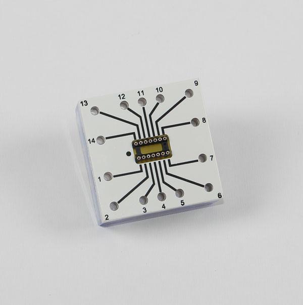 IC socket, 14 pin, STE 4/50