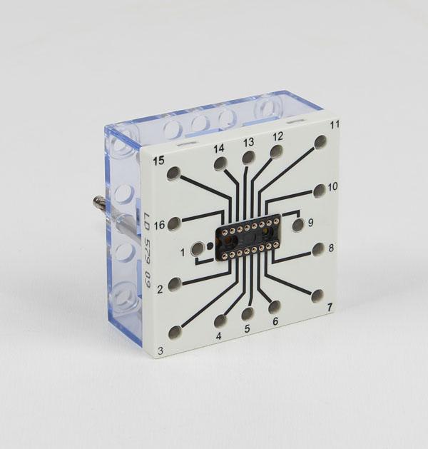 IC socket, 16 pin, STE 4/50