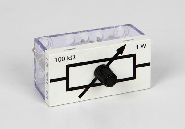 Variable resistor, 100 kΩ, STE 2/50
