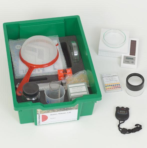 Basic Science Kit, Natural science: Soil