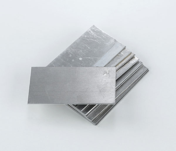 Plate electrodes, aluminium, 76 x 40 mm, set of 10