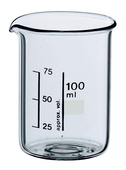 Beaker Boro 3.3, 400 ml, squat