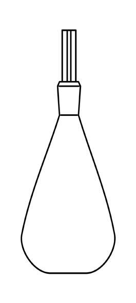 Gay-Lussac pycnometer, 25 ml