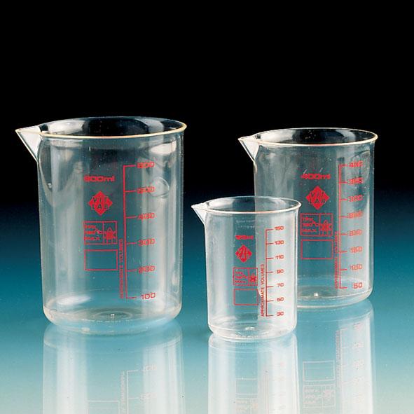 Beaker tall form, plastic 50 ml (TPX)