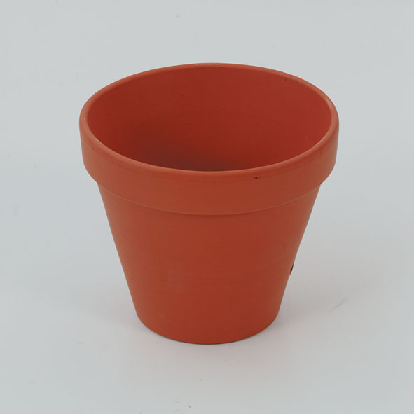 Pot Clay 120x120mm to growing plants