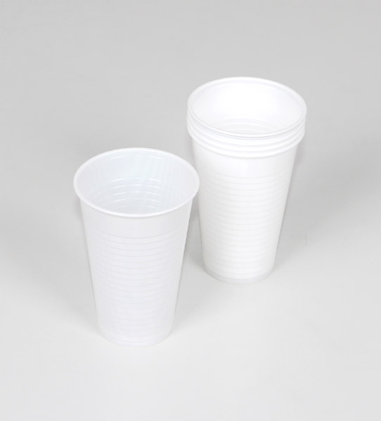 Plastic cup, set of 5