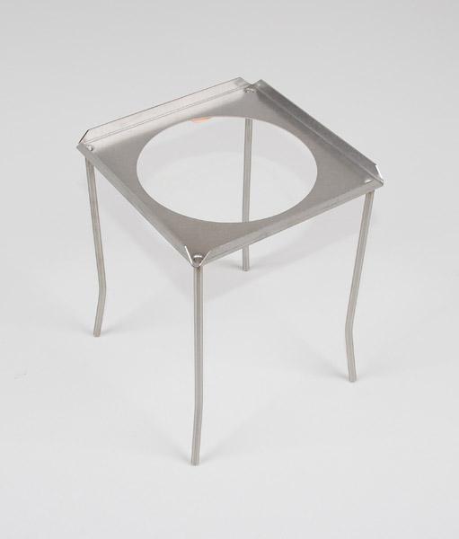 Four-legged stand, rectangular, 155 x 155 x 220 mm