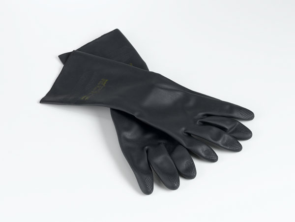 Safety gloves, neoprene, medium