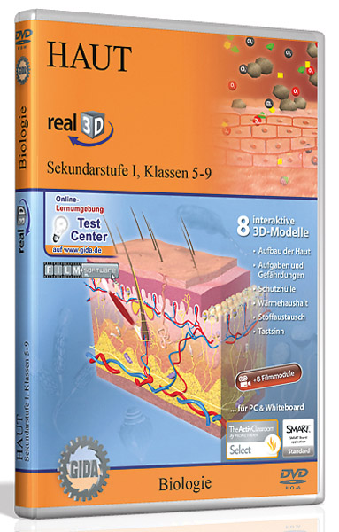 DVD: Skin - Software real3D