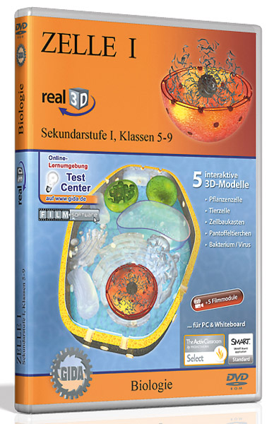DVD: Cell I - Software real3D