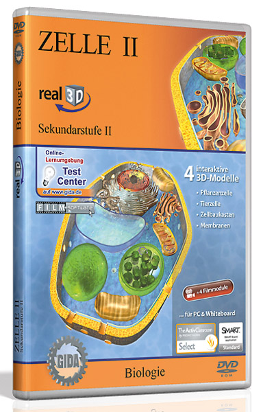 DVD: Cell II - Software real3D