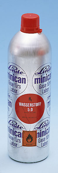 Minican pressurised gas canister, argon