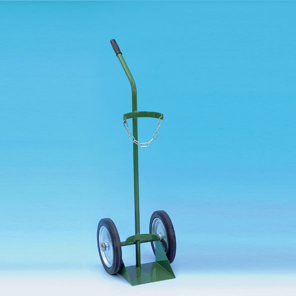 Trolley for one gas canister