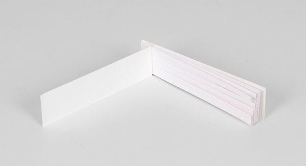 Booklet of fragrance strips
