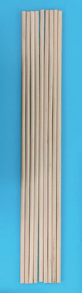 Wooden turnings, 10 pieces