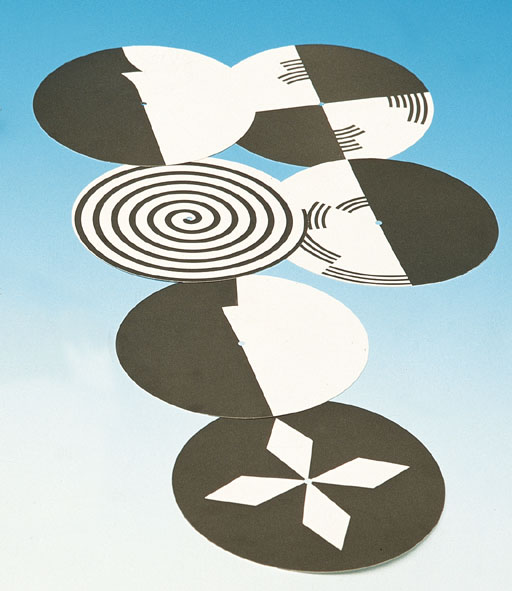 Sample pattern discs, set of 6