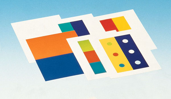 Set of 6 coloured images