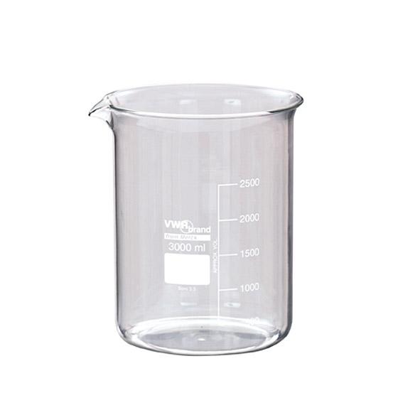 Beaker, TPX, 3000 ml
