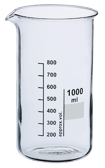 Beaker, Boro 3.3, 600 ml, tall