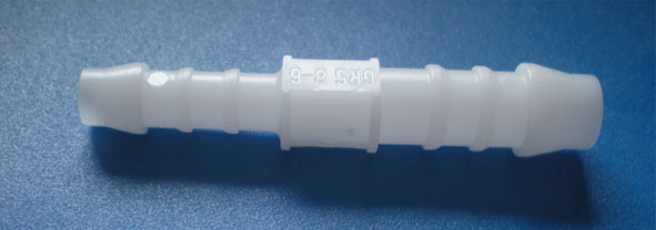 Connector, straight, 6/8 mm Ø