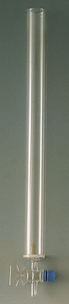 Chromatography column, 440 x 32 mm diam.