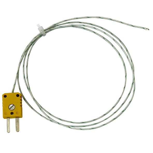 Temperature probe, NiCr-Ni, fast, type K
