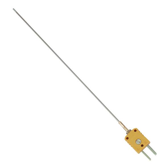 Temperature probe, NiCr-Ni, for insertion, type K