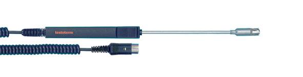 Temperature probe, NiCr-Ni, for surface measurement