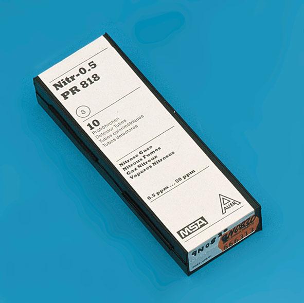Testing tube for NOx, 0.5...50 ppm, set of 10