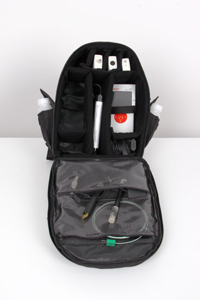 Backpack for environmental analysis
