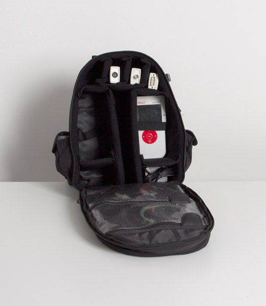 Backpack for environmental analysis, Wifi
