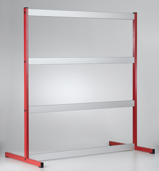 Panel frame C100, three-level, for CPS
