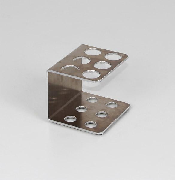 Test tube rack metal 20 mm Ø