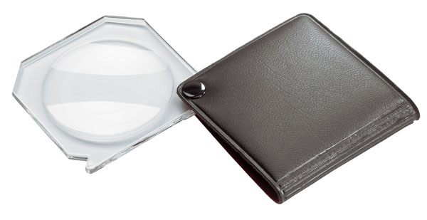 Pocket magnifier, 3,5x