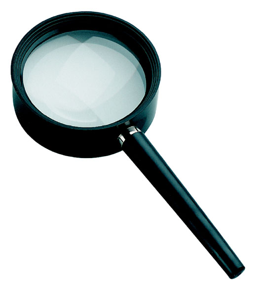 Technical handle magnifiers, 6 x