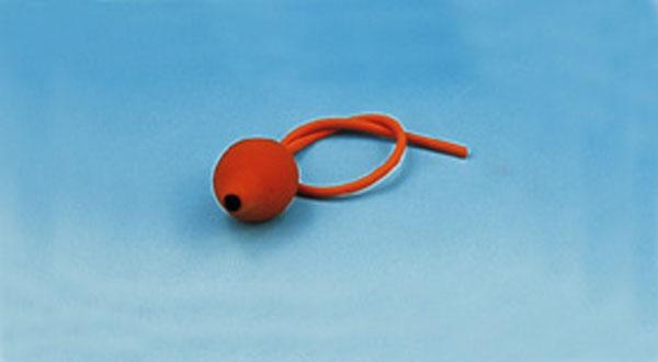 Rubber bellows, single bulb