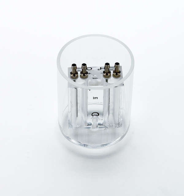 Gas reservoir for O2/H2