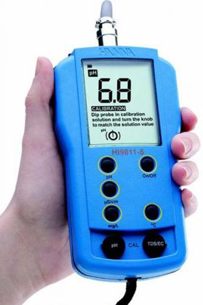 Combination Meter for pH/Conductivity/TD