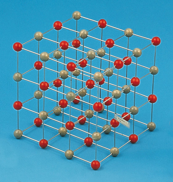 Crystal lattice of NaCl