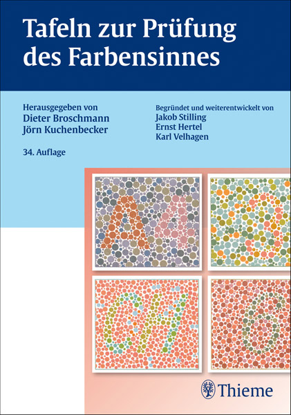 LIT: Charts for examining the colour perception, German