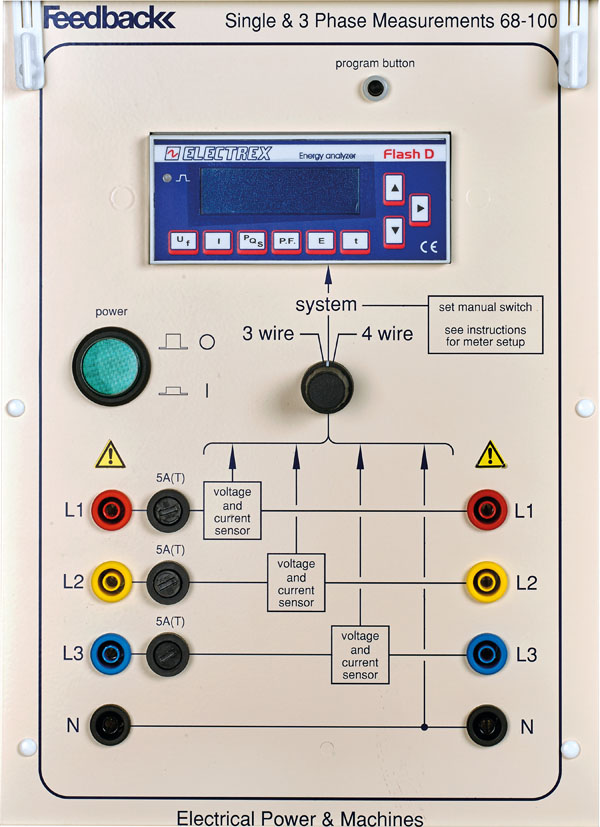 Electronic Single & 3 Phase Measurements