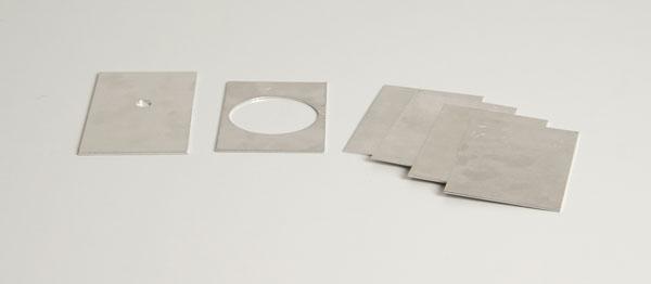 Frame and Set of Aluminium slides