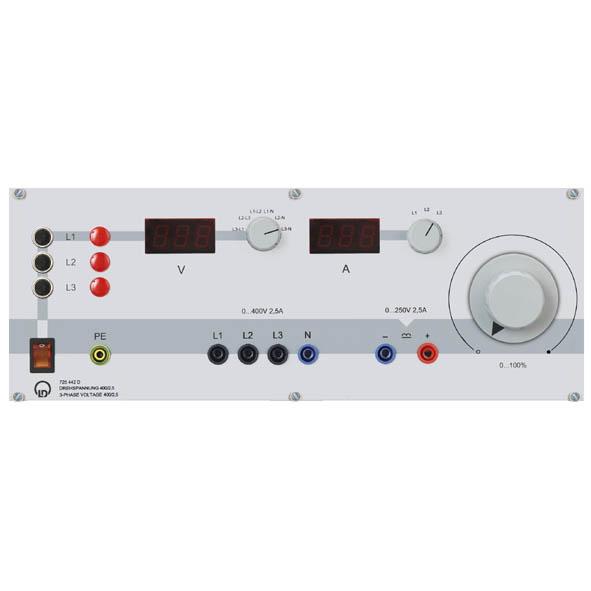 3-Phase Voltage 400 V/2.5 A
