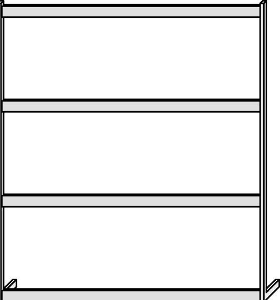 Panel frame VT160, three-level