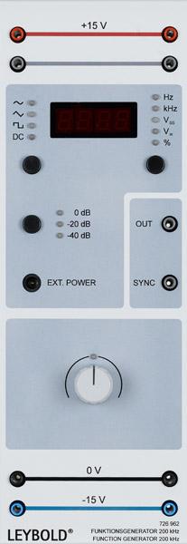 Function generator 200 kHz