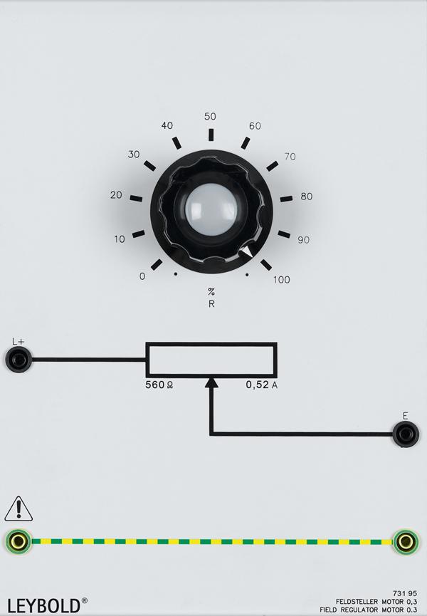 Field regulator, motor 0.3