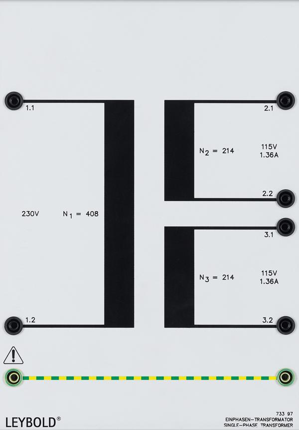 Single-phase transformer 0.3