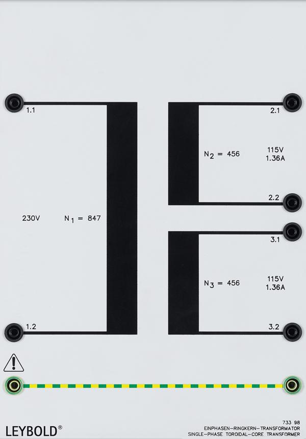 AC toroidal core transformer 0.3