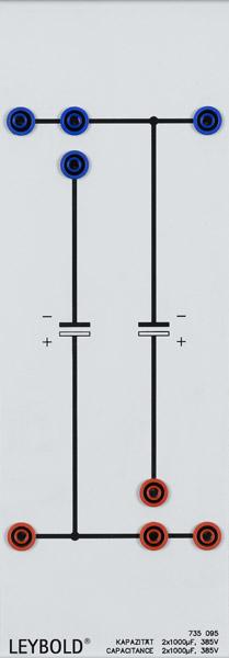 Capacitors 2x 1000 µF, 385 V