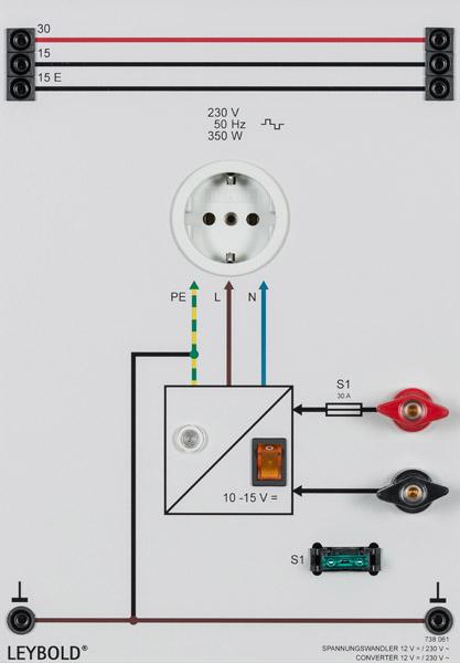 Inverter 12/230 V